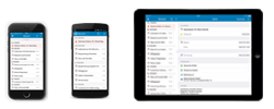 AMTANGEE CRM Software auf Smartphones + Tablets