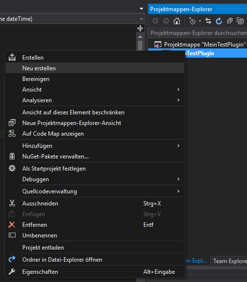 DevInside: AMTANGEE erweitern (Visual Studio Express - Build)